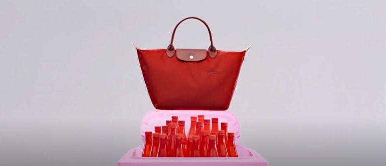 """Longchamp launches """"not a bag campaign"""" for the first green line of Le Pliage"""