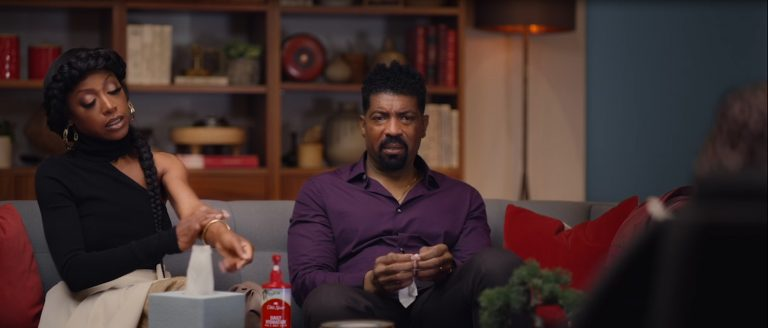 """Old Spice """"Men Have Skin Too"""" couple visit unexpected therapist to wave the coexistence problems derived from her borrowing of his mousturizing lotion"""