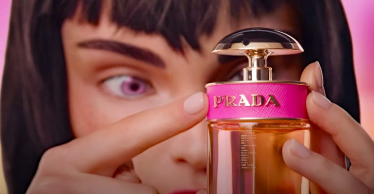 """Prada """"hires"""" virtual muse for Candy launch"""