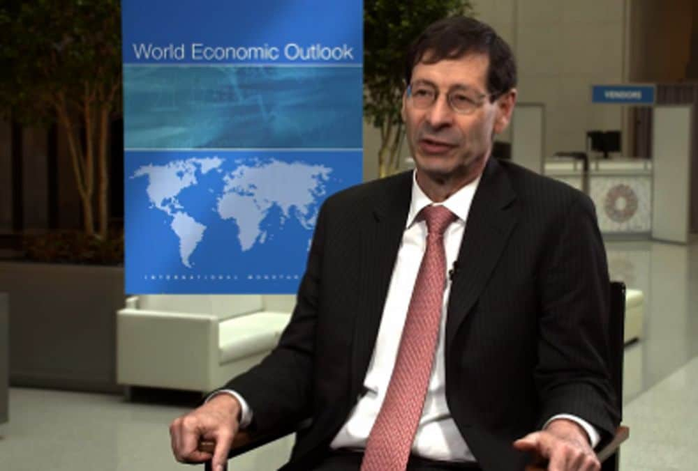 Maury Obstfeld (IMF Economic Counselor and the Director of the Research Department). © IMF