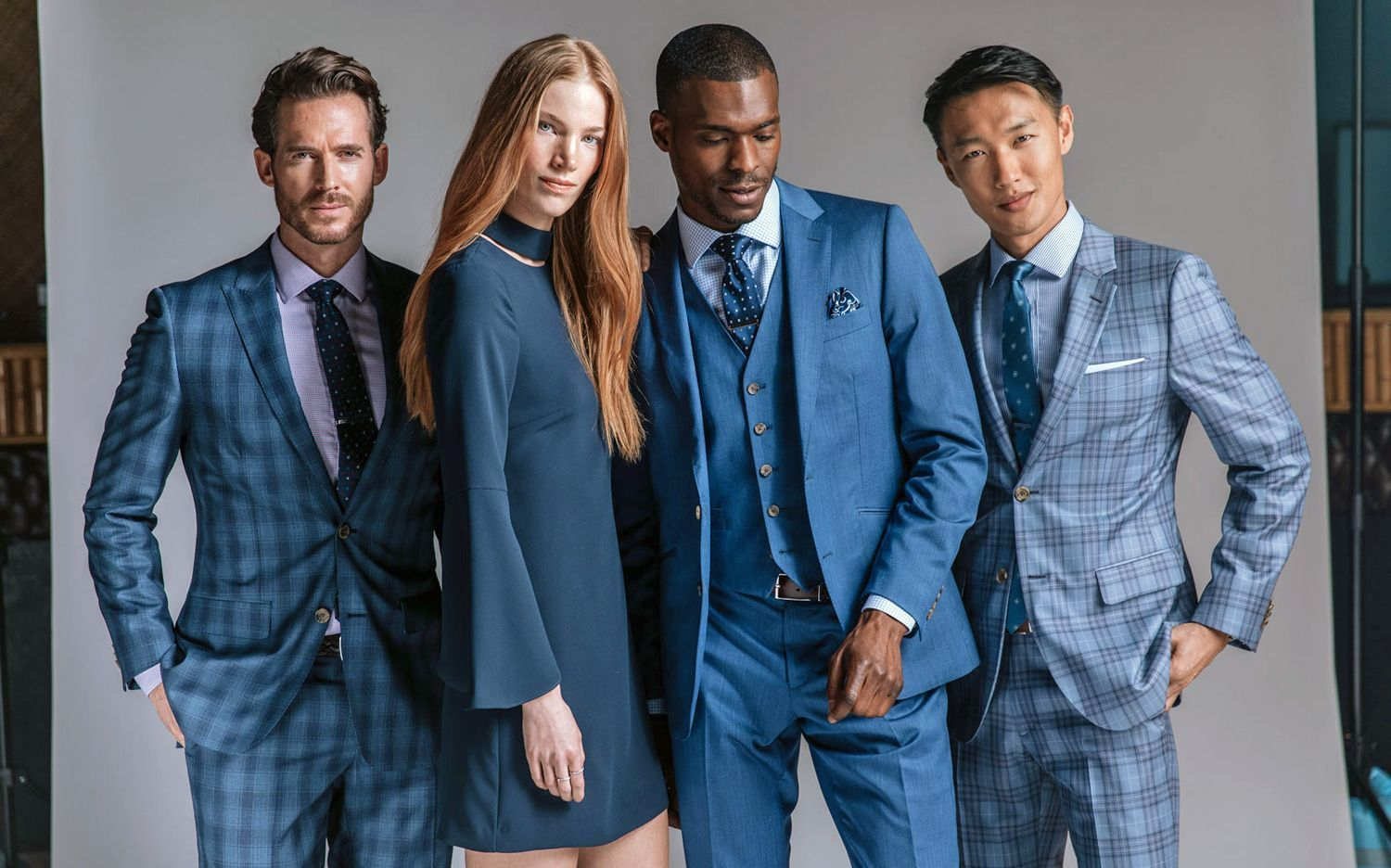 Indochino, Spring collection 2017, Downtown Skyline line. © Indochino.