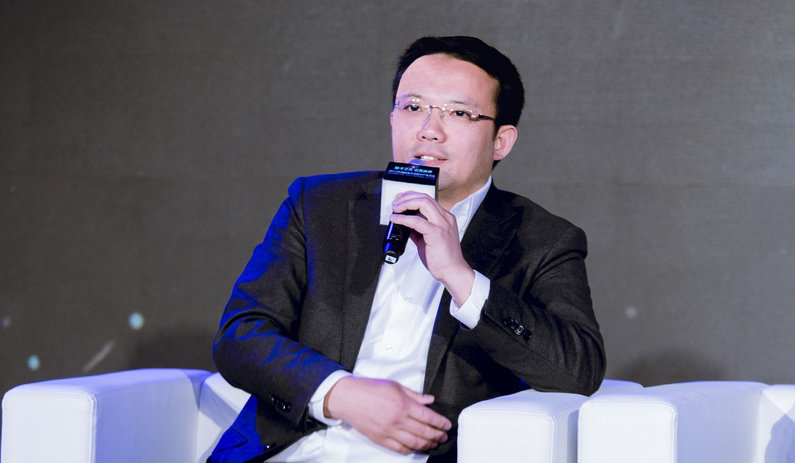 Liu Junguang, Samsung Electronics' Vice President of Visual Display Business at the International QLED Forum. © Samsung.Samsung launched first QLED TV screens in 2016 and introduced its latest generation of QLED TVs in 2017. The South Korean company also showcased first ever QLED curved monitor at CES 2017.