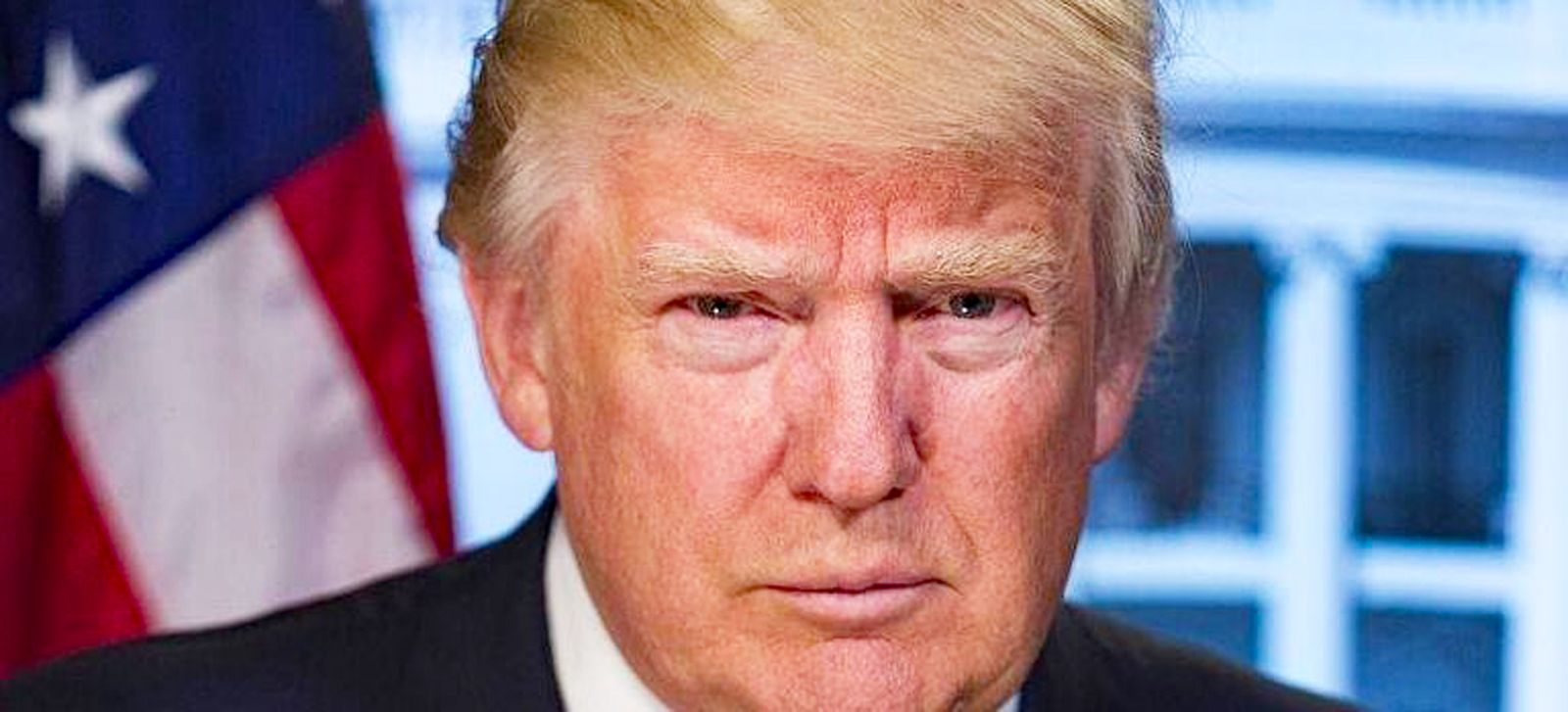 Donald Trump (President of the United States of America). Source of the image his official profile on Facebook.
